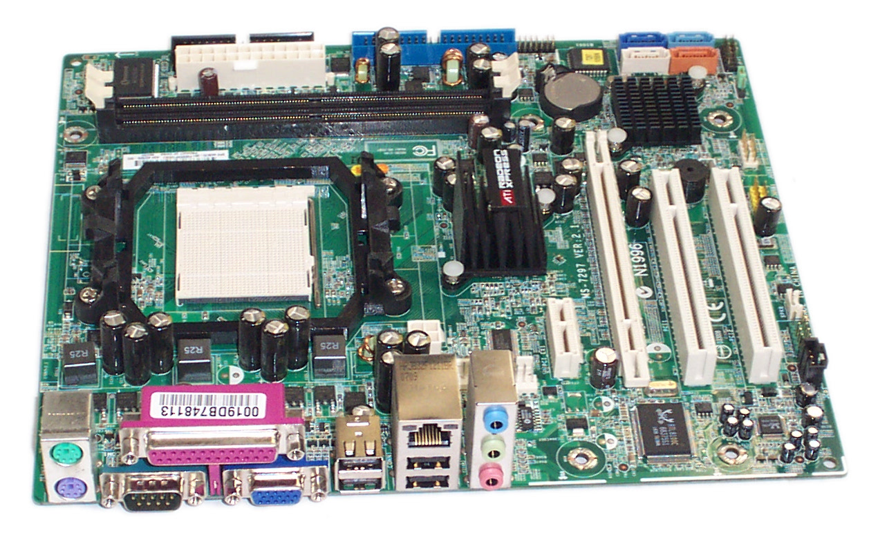 HP 437828-002 dx2250MT Socket AM2 Motherboard - SPS 443670-001 Enlarged Preview