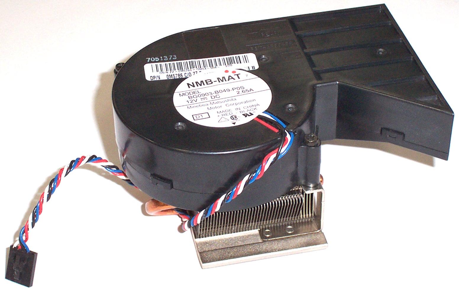 Dell M5786 Optiplex Gx280 Sff Model Dhp Heatsink Amp Fan