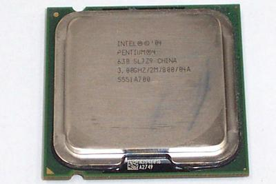View Item Intel SL7Z9 Pentium 4 630 3GHz 800MHz 2MB Socket T LGA775 Processor