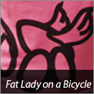 Fat Lady on a Bicycle