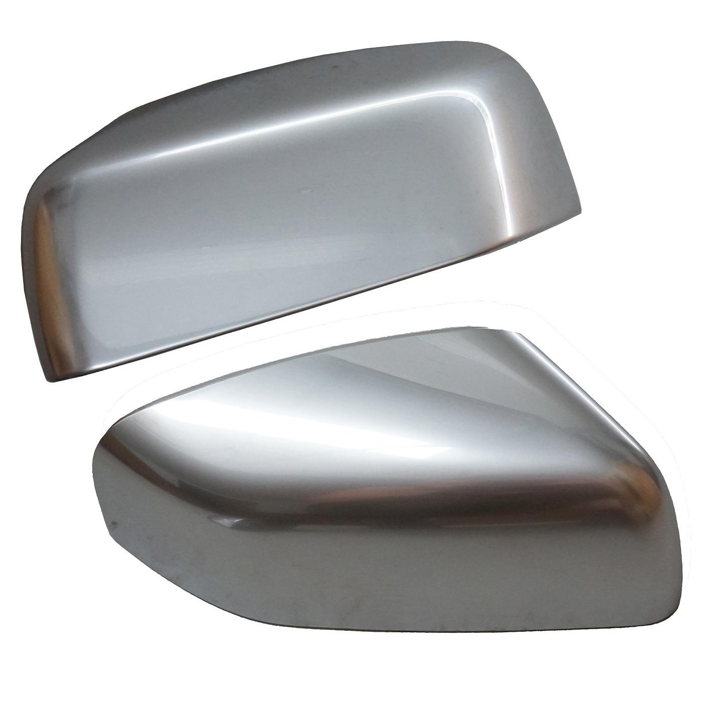 Genuine Landrover Noble Chrome Top Mirror Caps Freelander2
