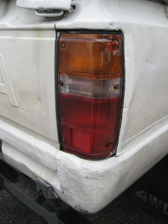 1988 Toyota Pickup Parts >> Rear tail Light Right Toyota Hilux Mk2 pickup tail lamp   eBay