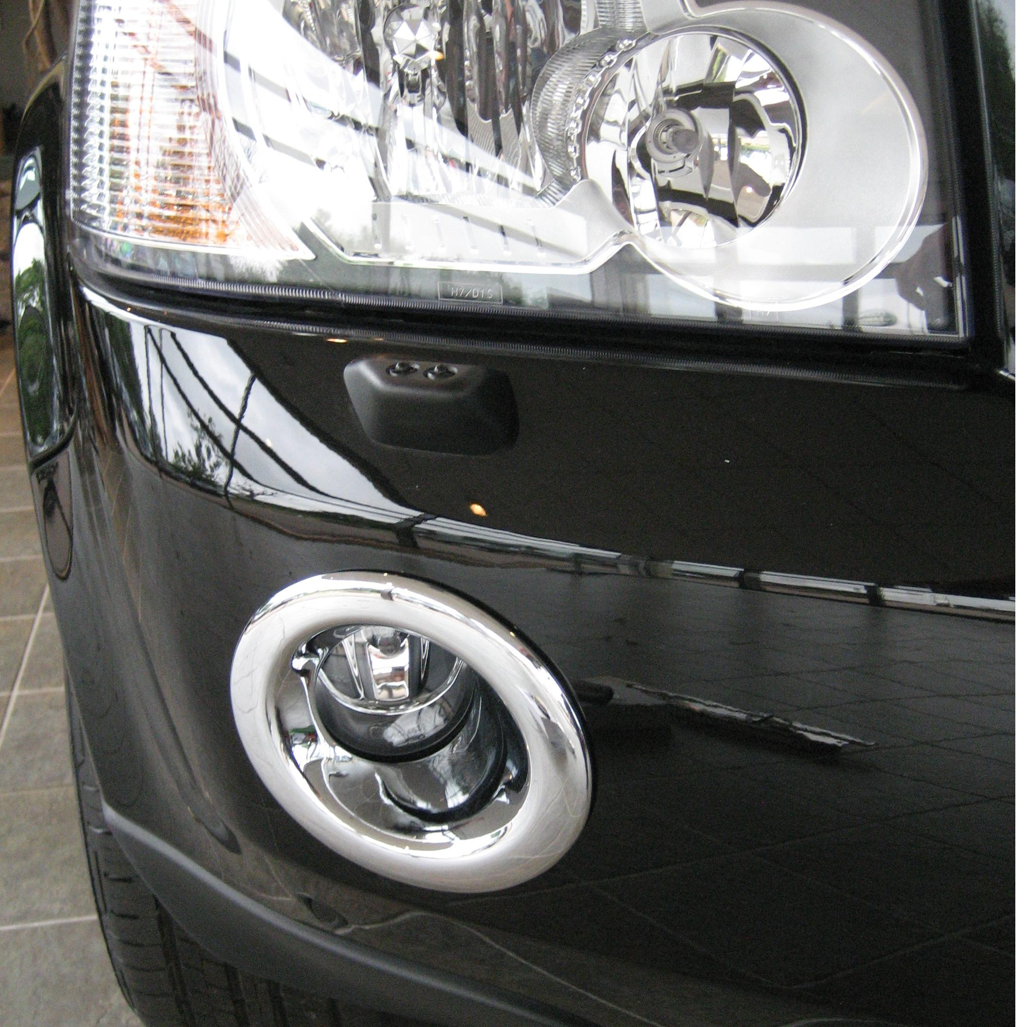 Chrome Fog Lamp Light Lamp Cover Trim Land Rover