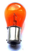 View Item BA15s AMBER Indicator Bulb 12v 21W (opposite pins)