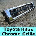 View Item Toyota Hilux Mk3 Chrome Front Grille (1992 to 1995)