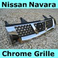 View Item Nissan Navara D22 Chrome Front Grille