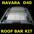 View Item Nissan Navara D40 pickup Aventura Style Roof Bar Kit