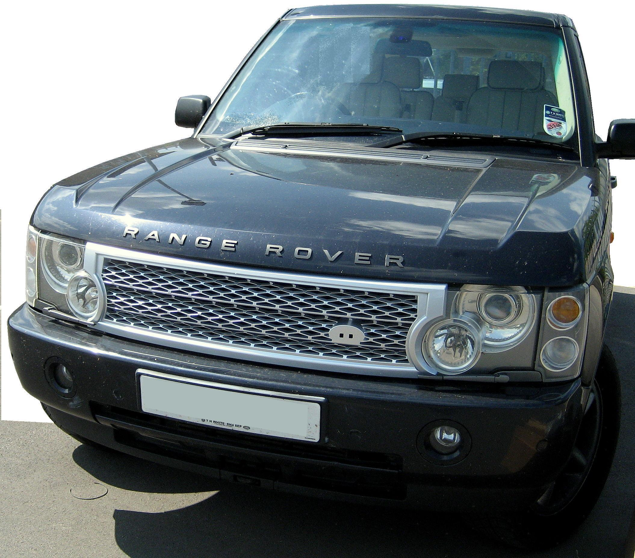 Silver SUPERCHARGED Grille Upgrade Kit For Range Rover