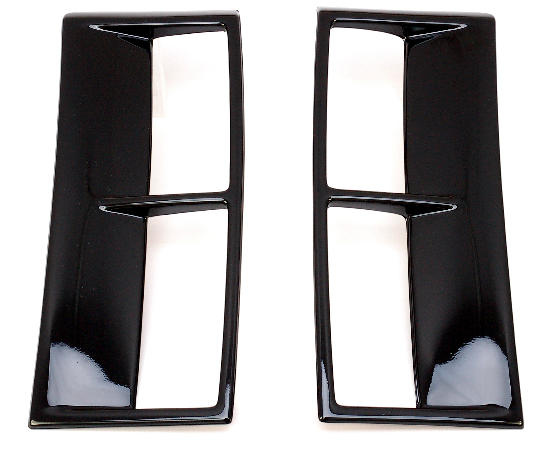Supercharger Honda Jazz: Black Supercharged SIDE VENT Fin COVERS For Range Rover