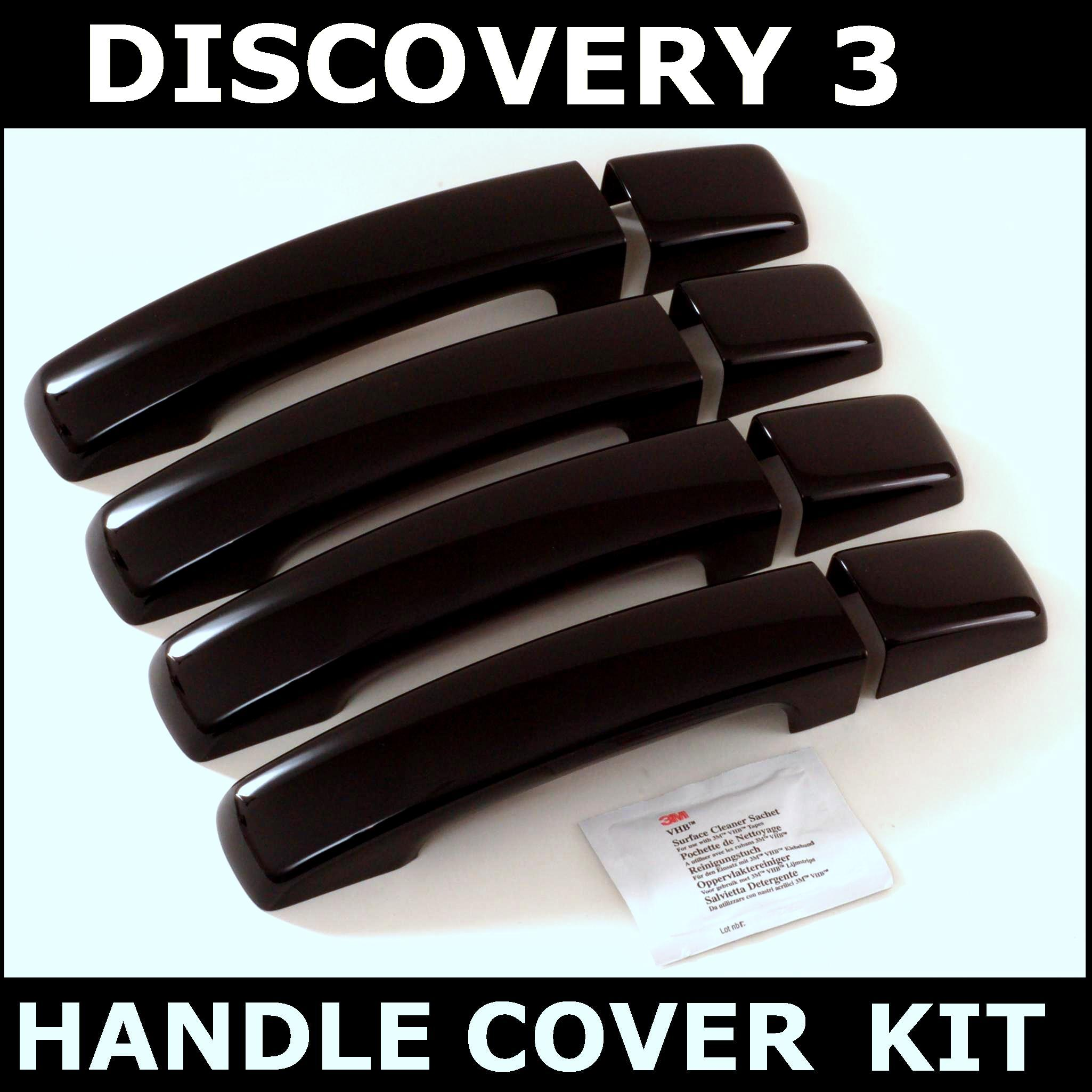 Land Rover Discovery 1 3 Door For Sale: JAVA BLACK DOOR HANDLES Cover Kit For Land Rover Discovery