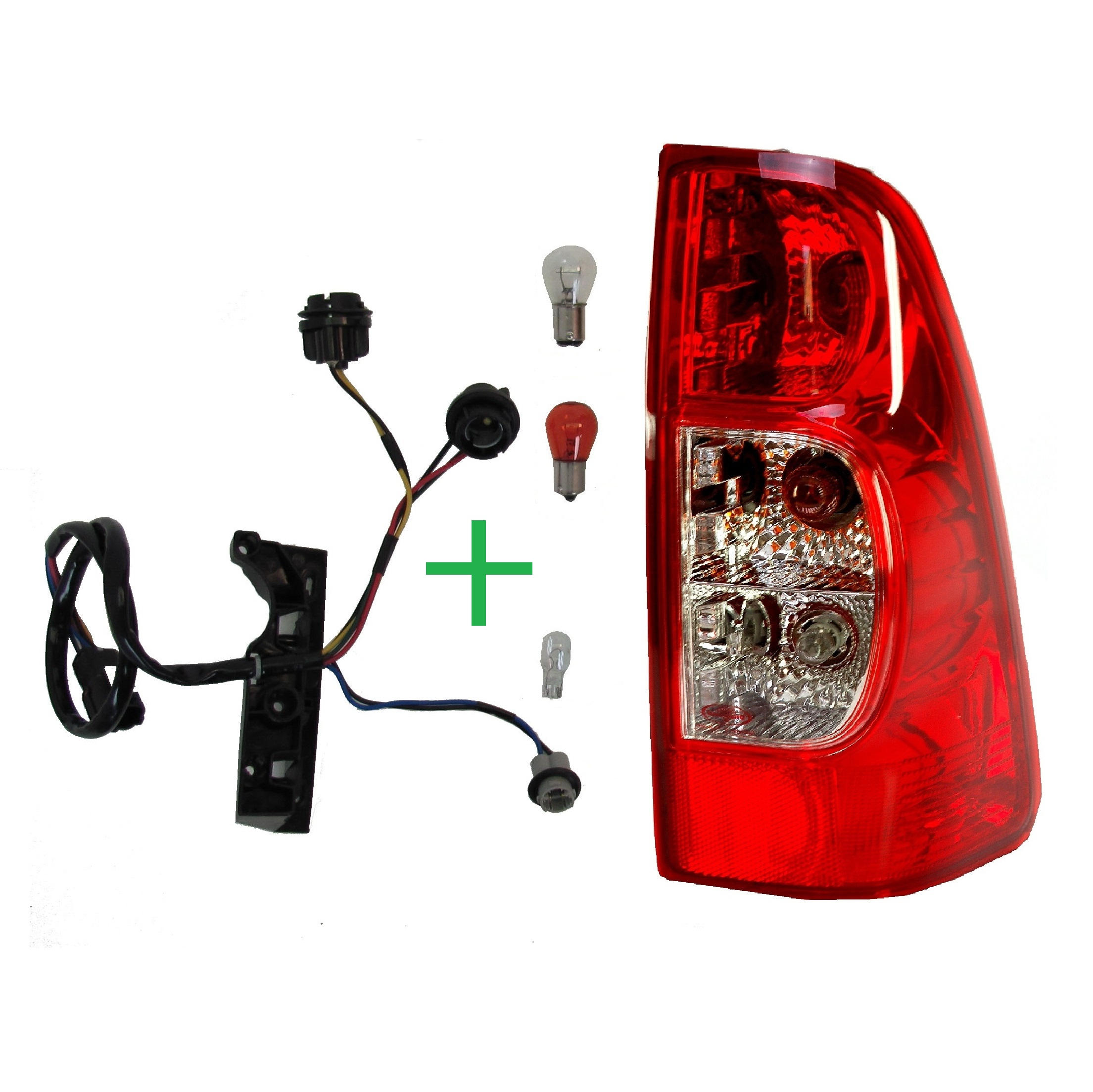 rear tail light lamp for isuzu rodeo dmax pickup lens 2007 2012 thumbnail 1