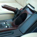 View Item Range Rover L322 Cup Holder - Burr Walnut