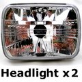 View Item Toyota Hilux Mk1 & Mk2 Crystal Headlight Upgrade (Pair)