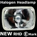 View Item Halogen Headlight RHD (Each) - Nissan D21 pickup