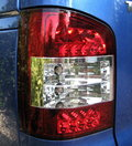 View Item LED Clear + Red Rear lights for VW Transporter T5