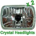 View Item Toyota Hilux Mk1 & Mk2 Crystal Headlight Upgrade (Pair) with E Mark