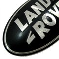 View Item Range Rover P38 Front Grille Badge - BLACK & SILVER