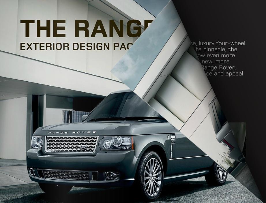 Range rover l322 exterior design pack rear bumper for Range rover exterior design package