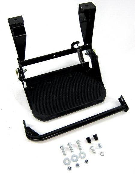 Deployed Side Steps For Range Rover Genuine Accessory: Land Rover Defender Folding Step Kit