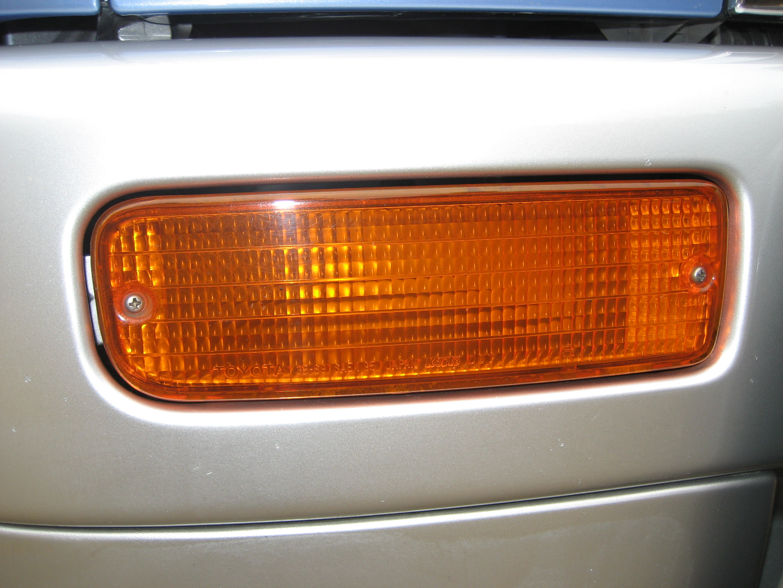 bumper indicator light lamp toyota hilux surf 185 right ebay. Black Bedroom Furniture Sets. Home Design Ideas