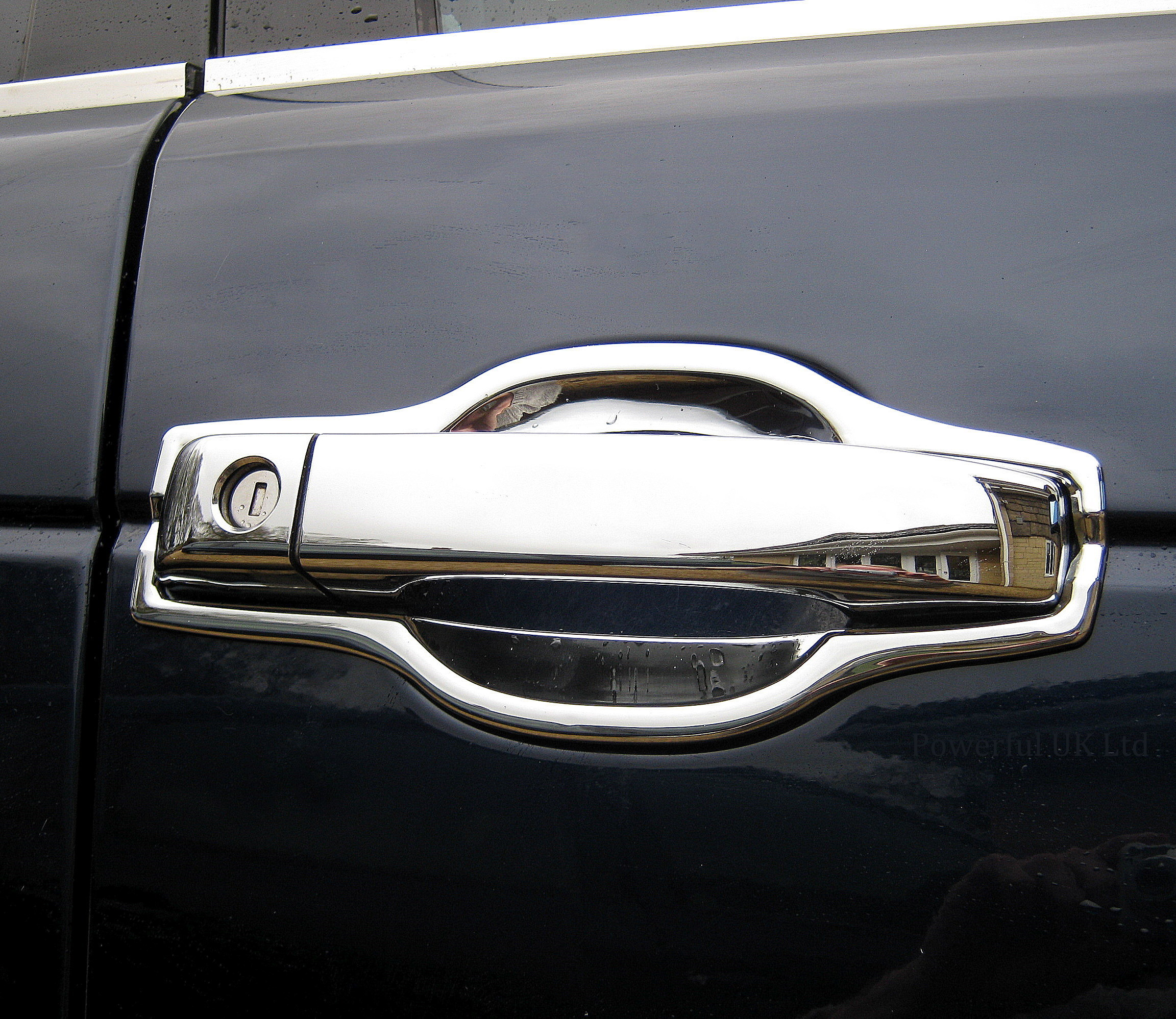 Honda Jazz Gk Supercharger: Chrome Door Handle Surrounds For Range Rover L322 Vogue