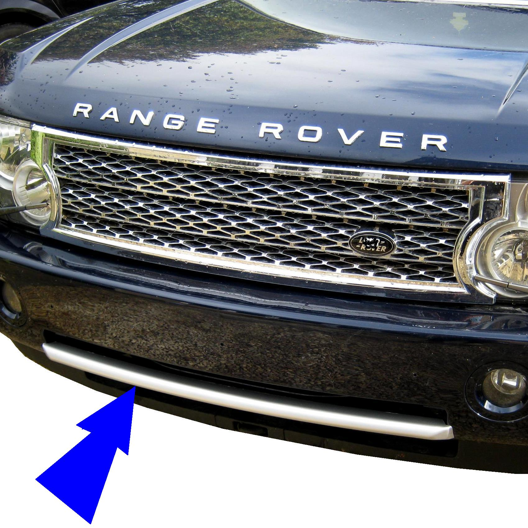 2010 Look Front Bumper Trim Strip For Range Rover L322