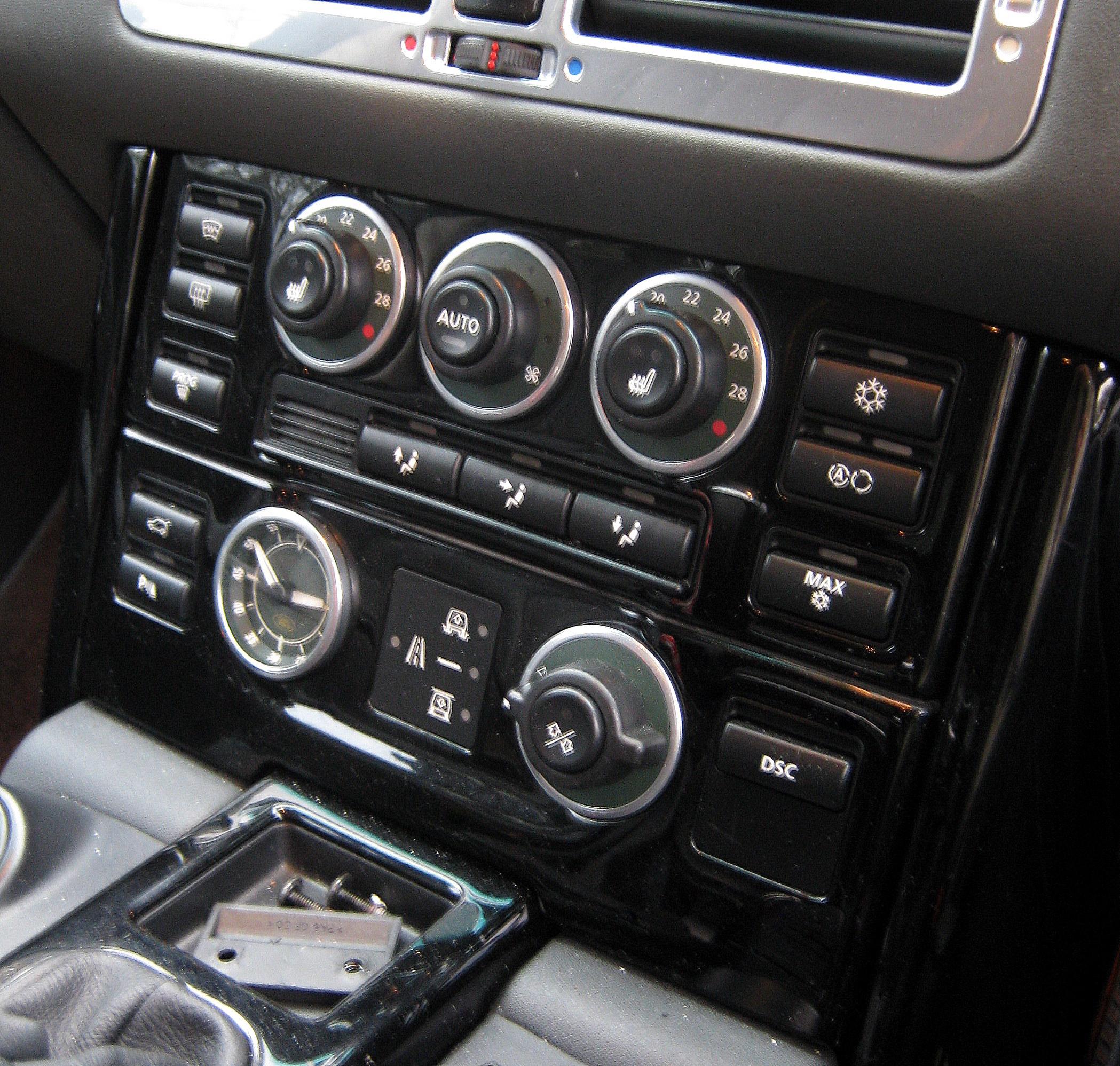 2002 Land Rover Range Rover Interior: Piano Black Gloss Interior Dash Fascia For Range Rover