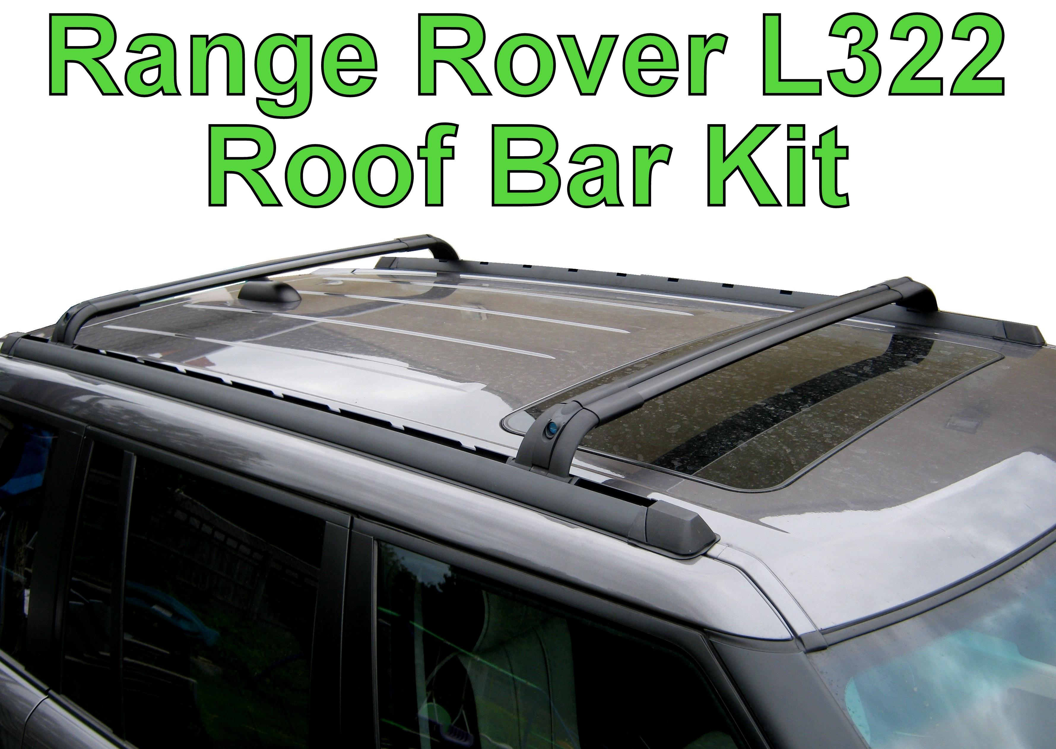 Roof Bar Kit For Range Rover L322   Locking Cross Rails