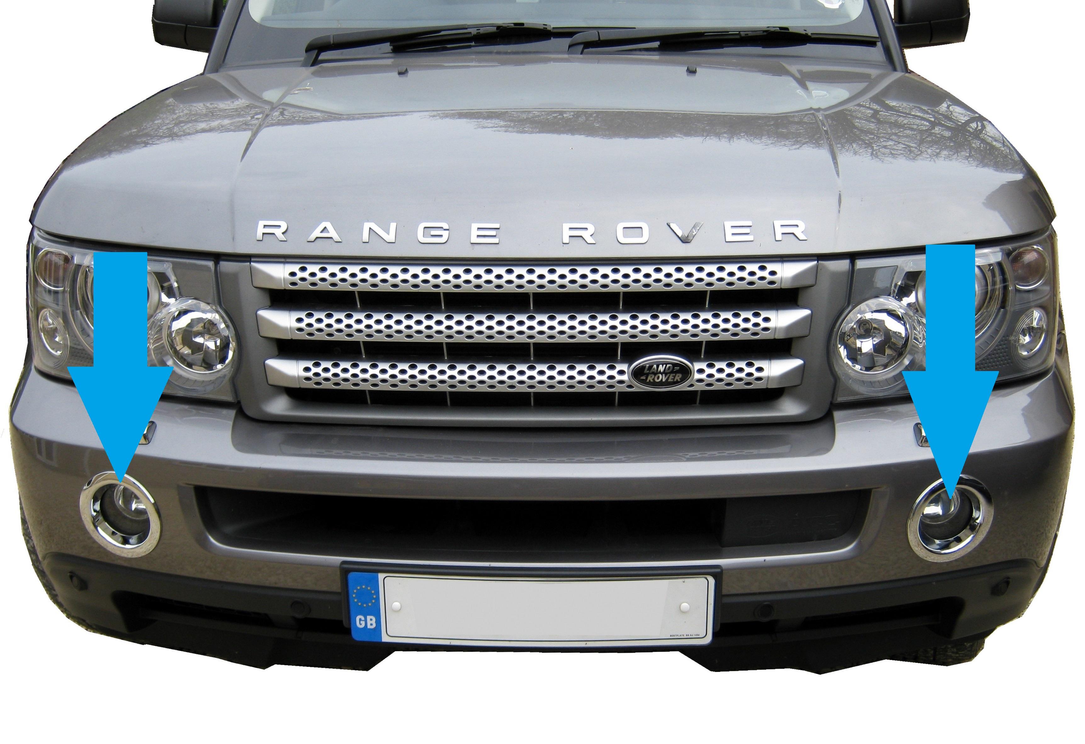Range Rover Sport Osram H11 Night Breaker Plus Front Fog