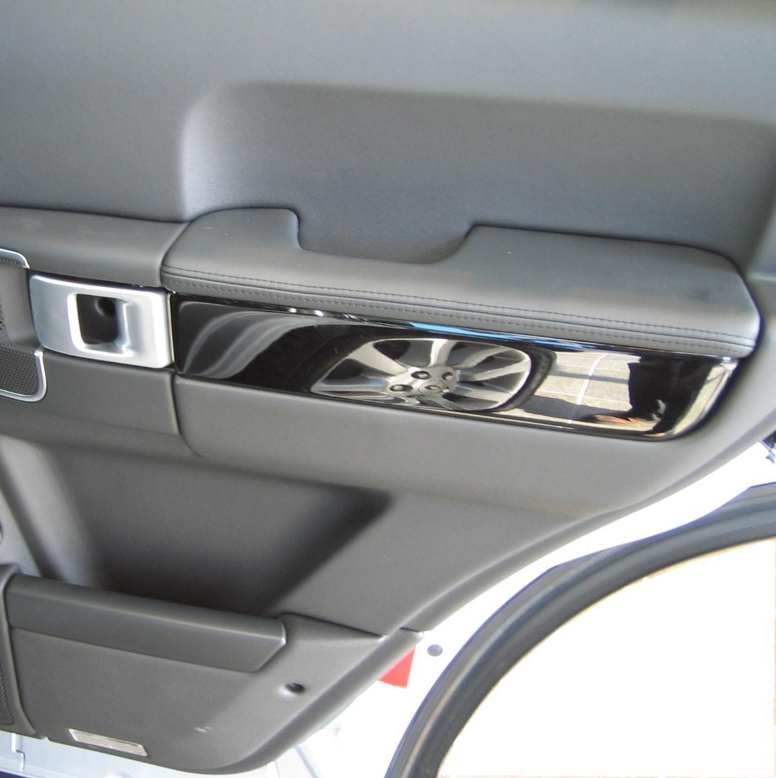 2002 Land Rover Range Rover Interior: Door Card Interior Trim Black Piano Range Rover L322 2006