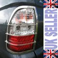 View Item Mitsubishi L200 Stainless Steel Rear Light Guards for Mitsubishi L200