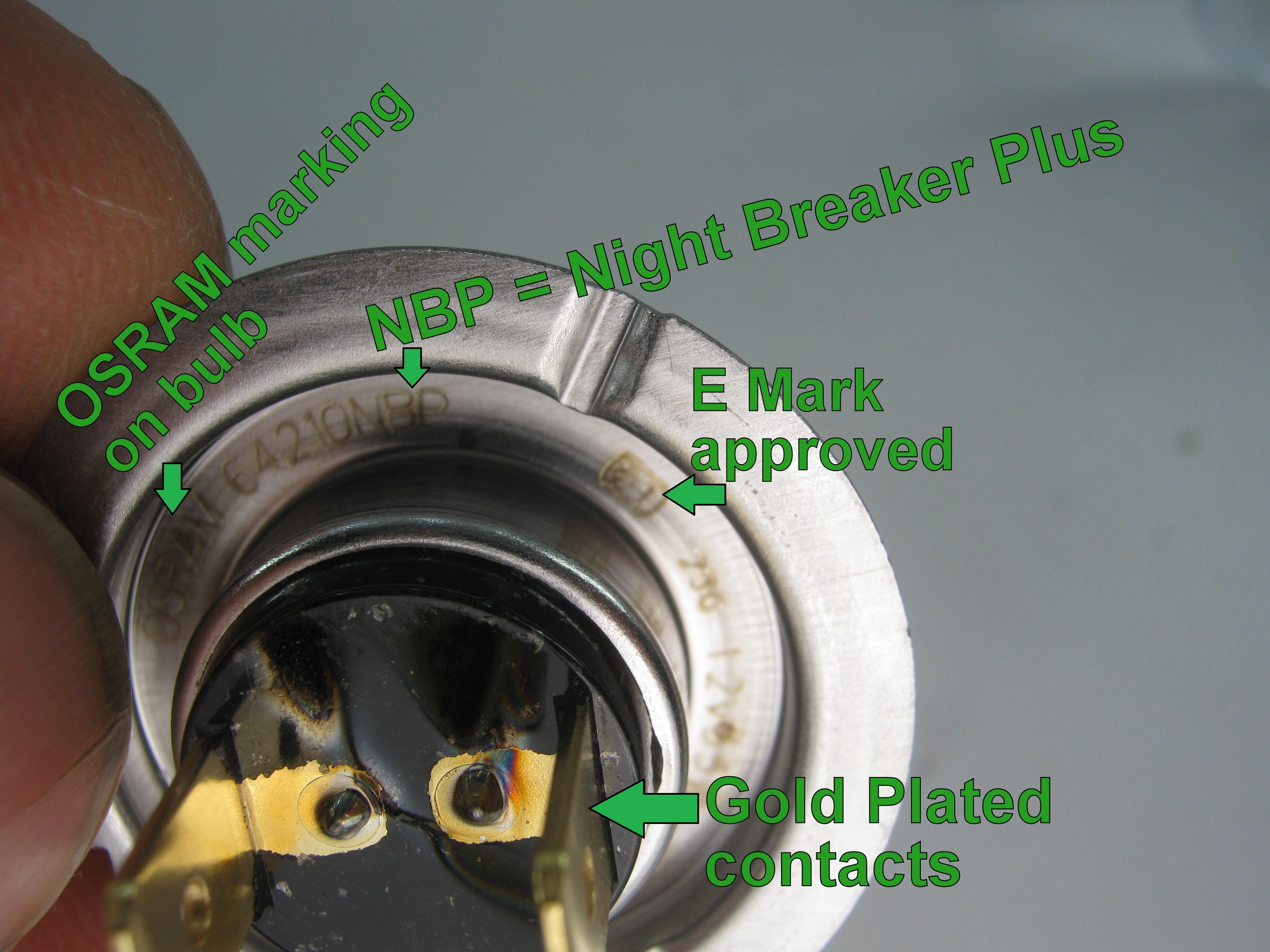 land rover freelander 2 osram h7 night breaker halogen. Black Bedroom Furniture Sets. Home Design Ideas