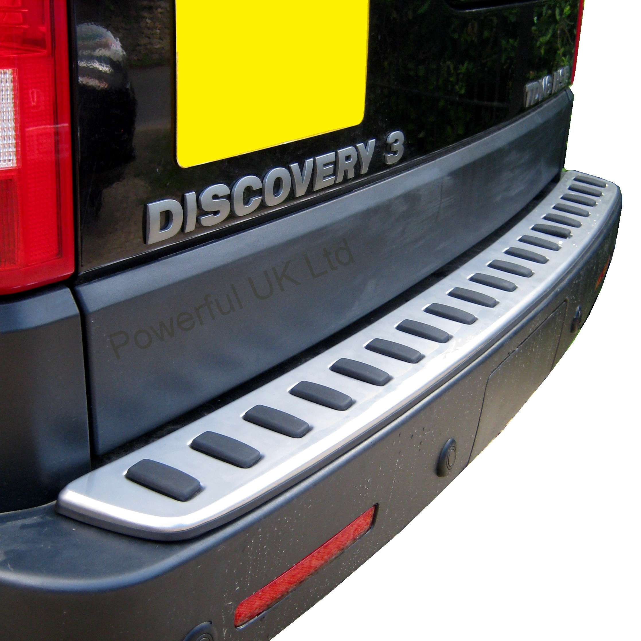 Rear Bumper Step Stainlesss For Land Rover Discovery 3+4