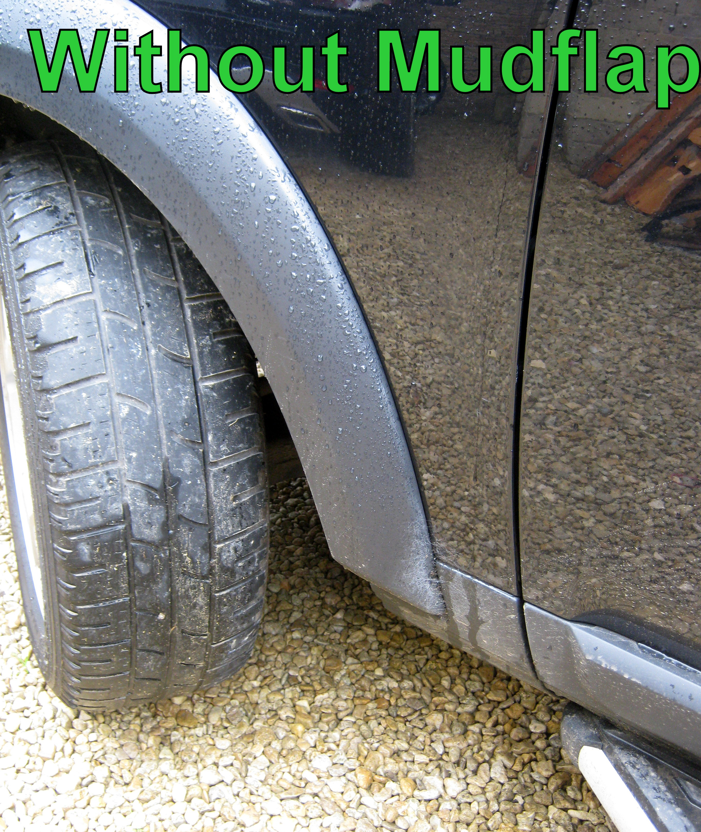 Front Mudflap Kit For Land Rover Discovery 3 4