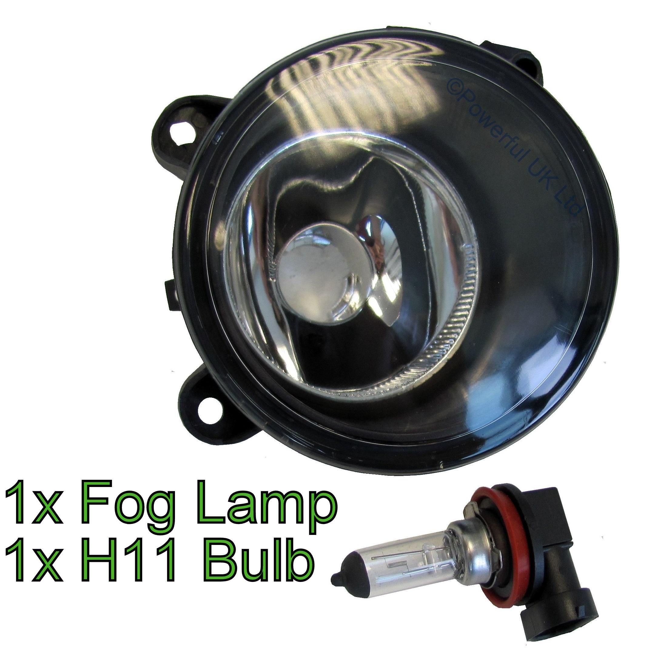 Front Bumper Fog Lamp Light For Range Rover L322 2006 2009