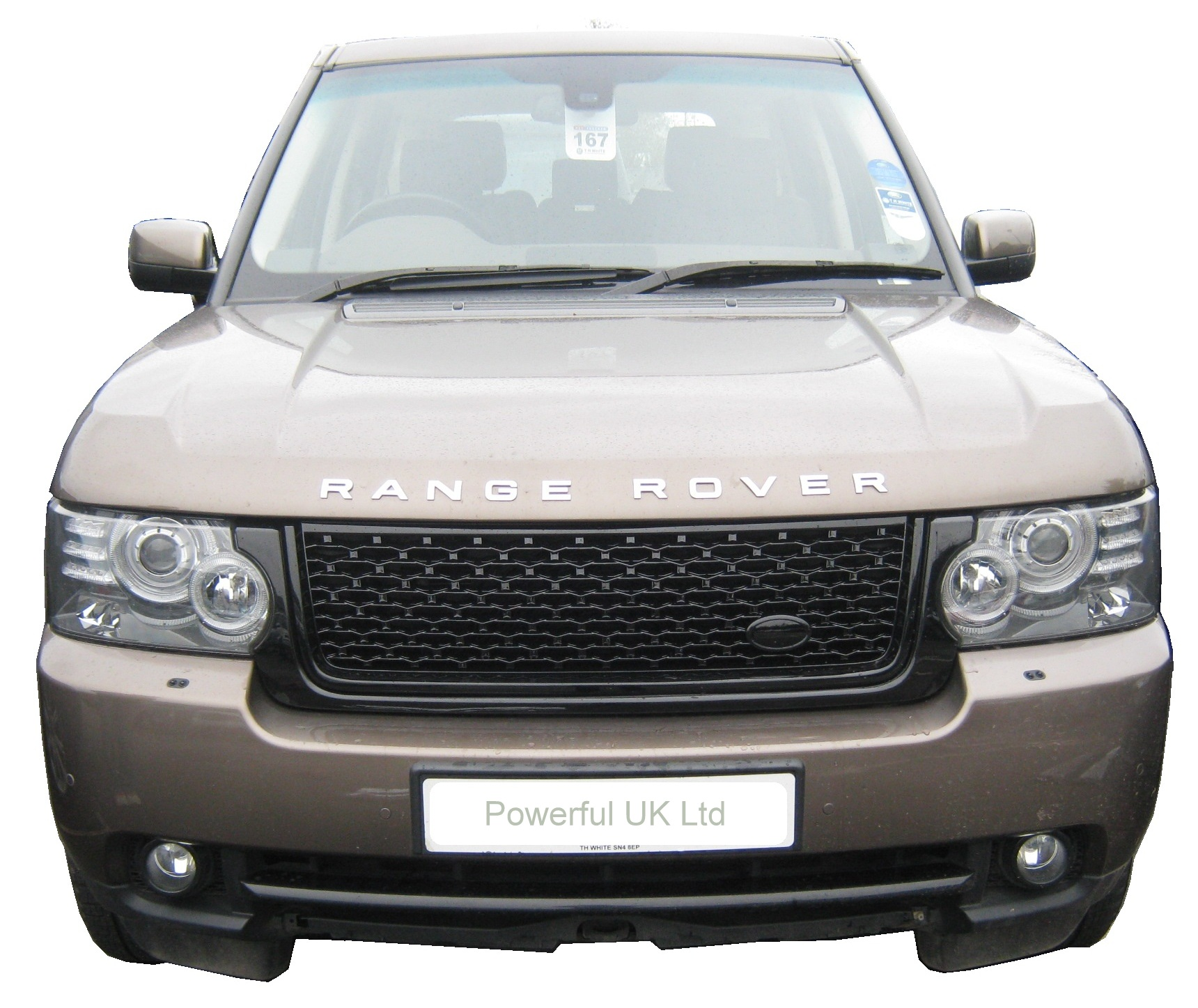 full black autobiography style grille for range rover l322 2010 on design pack ebay. Black Bedroom Furniture Sets. Home Design Ideas