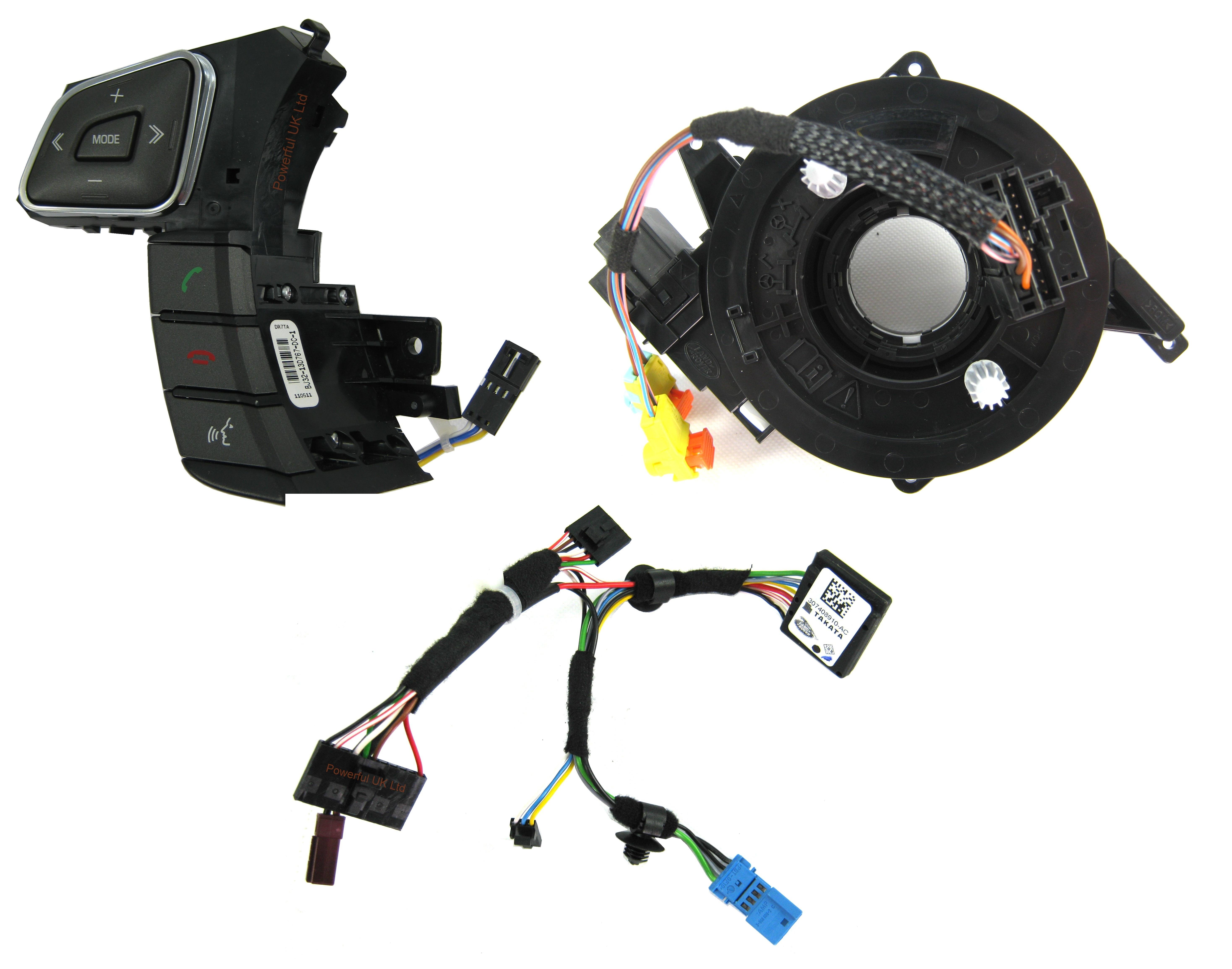 range rover evqoue heated steering wheel upgrade kit pure. Black Bedroom Furniture Sets. Home Design Ideas