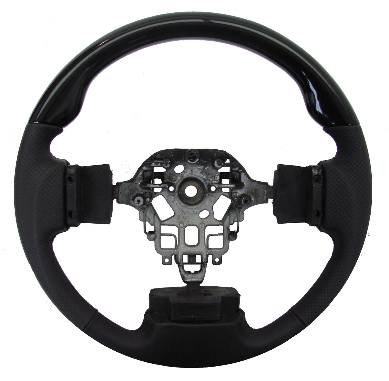Sport Quot Black Piano Quot Wood Steering Wheel For Nissan Navara