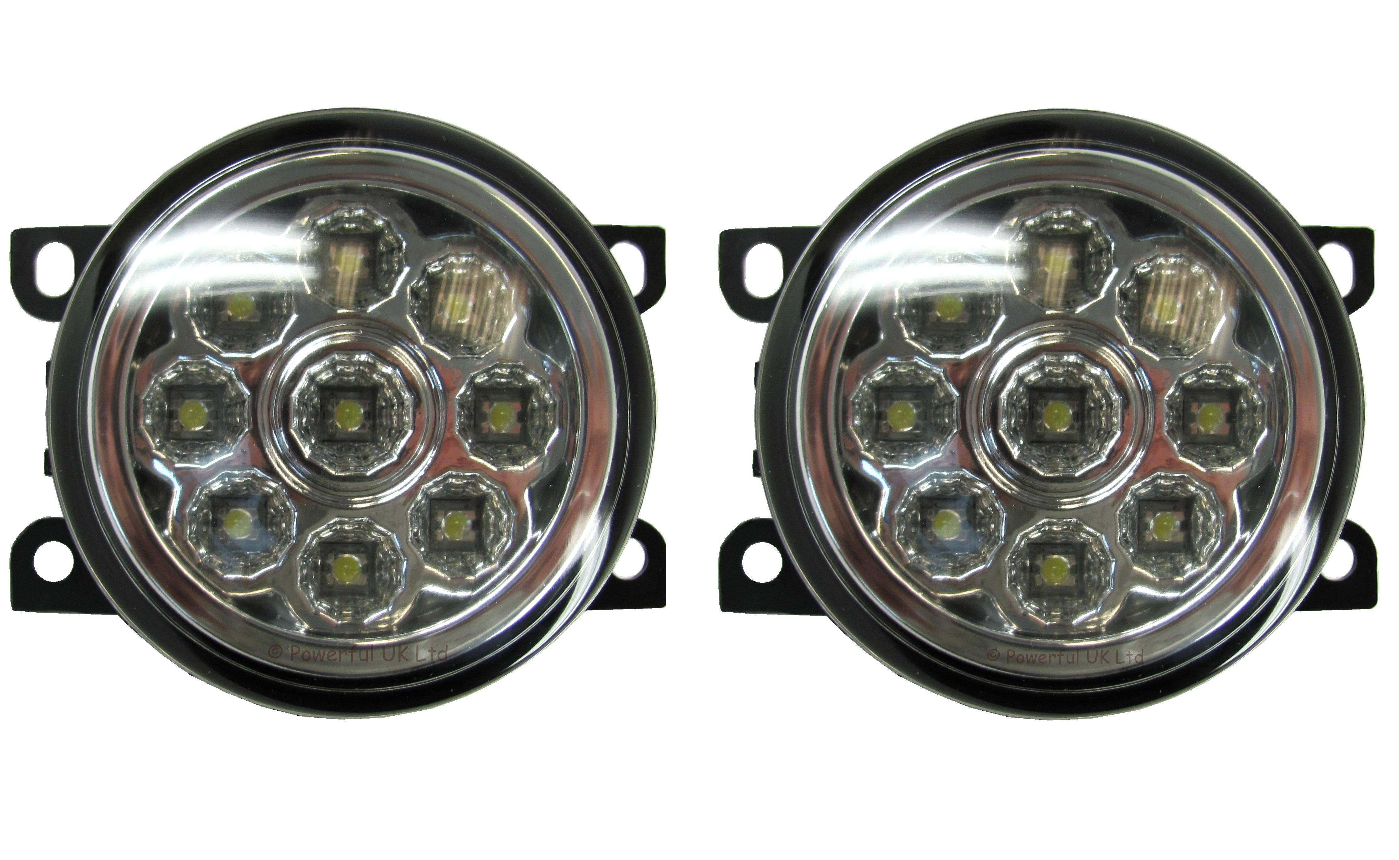 Elegant ... 2x Led Front Bumper Fog Drl Lamps Lights Range Rover Sport ...