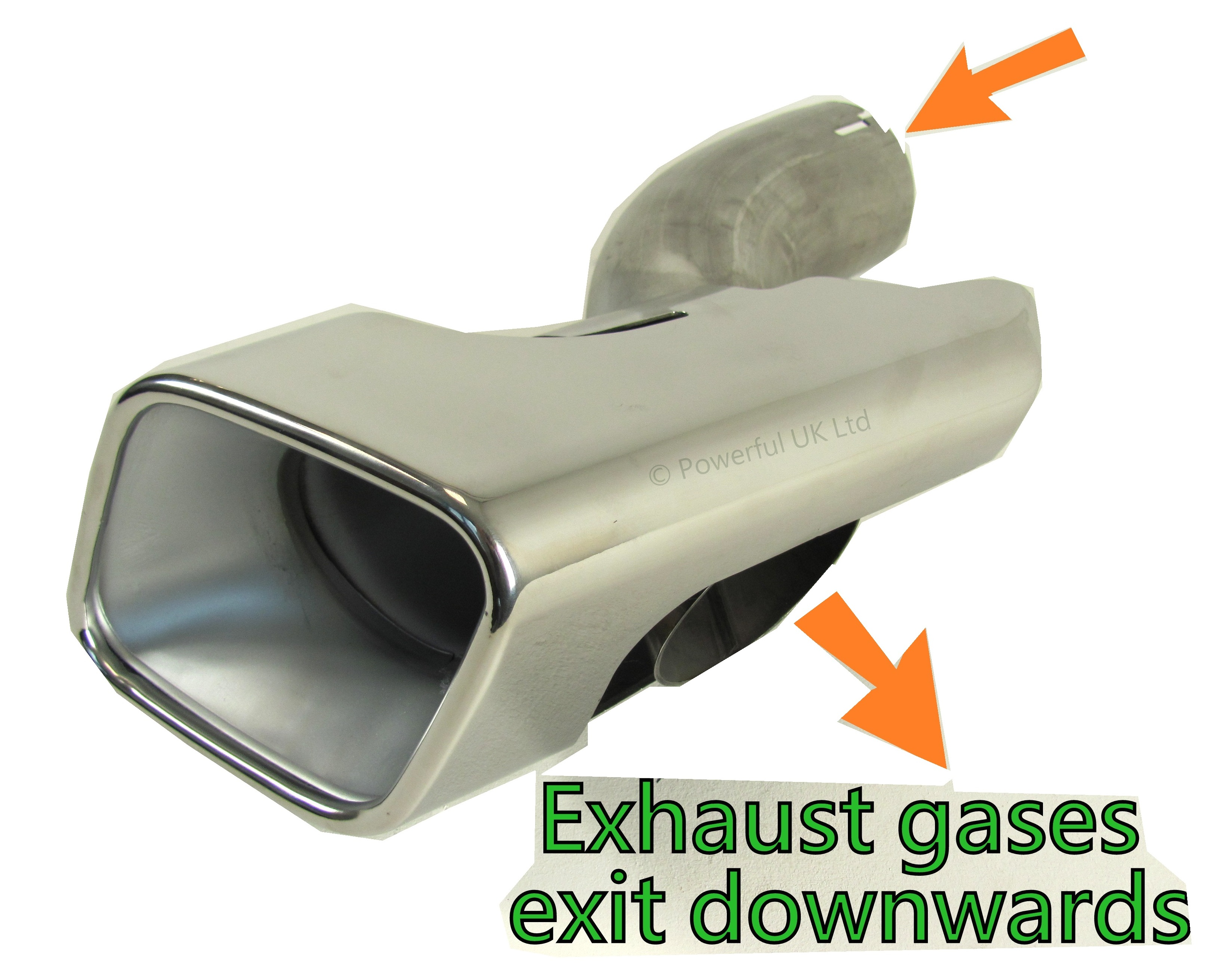 Exhausts tips tailpipe Range Rover Sport Autobiography Diesel rear bumper TDV6