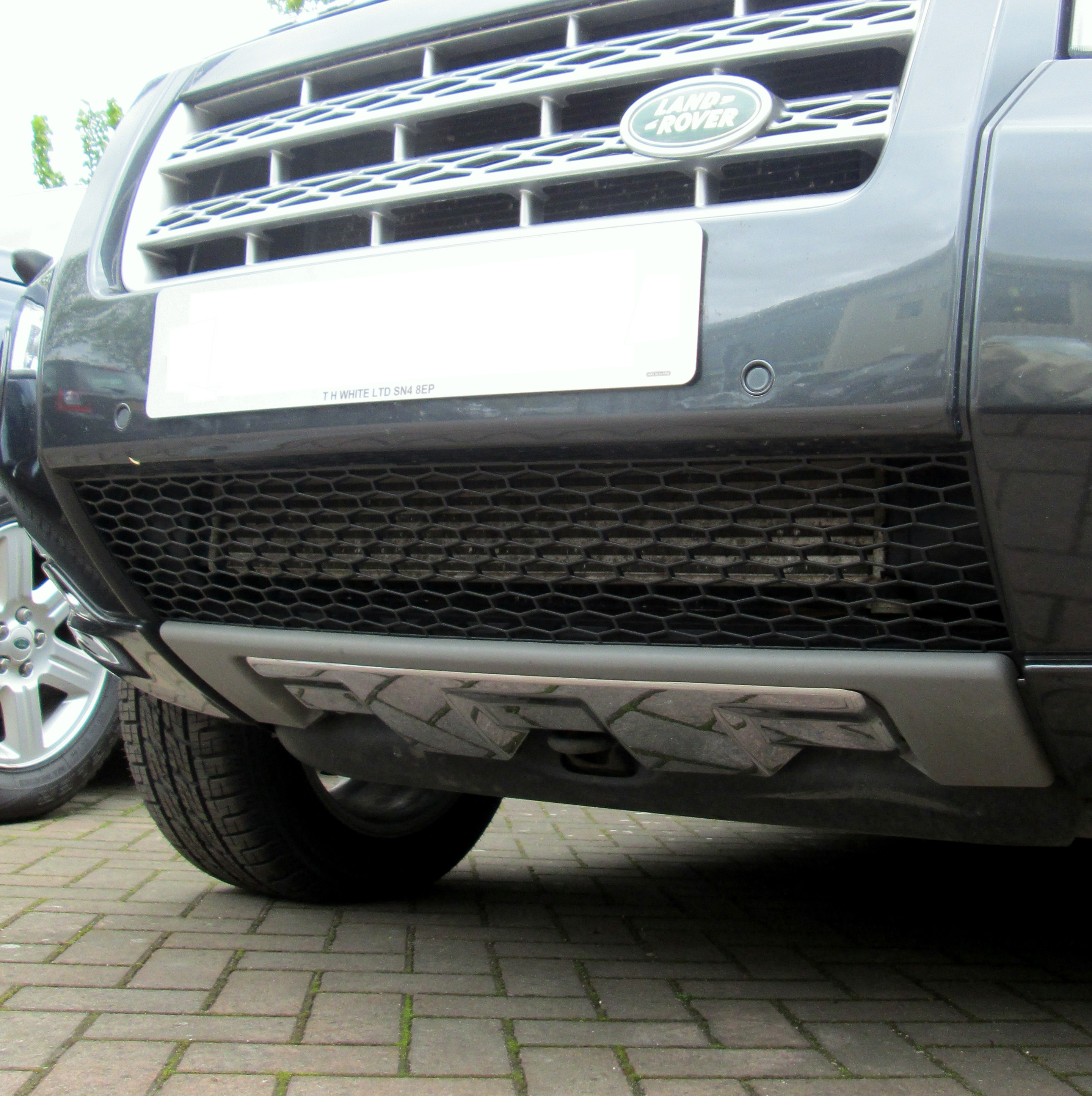 Chrome Front Bumper Tow Eye Cover For Land Rover