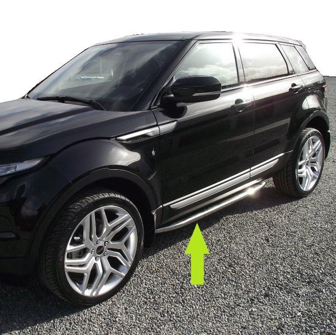 Range Rover Evoque Chrome Side Bars For Pure Prestige