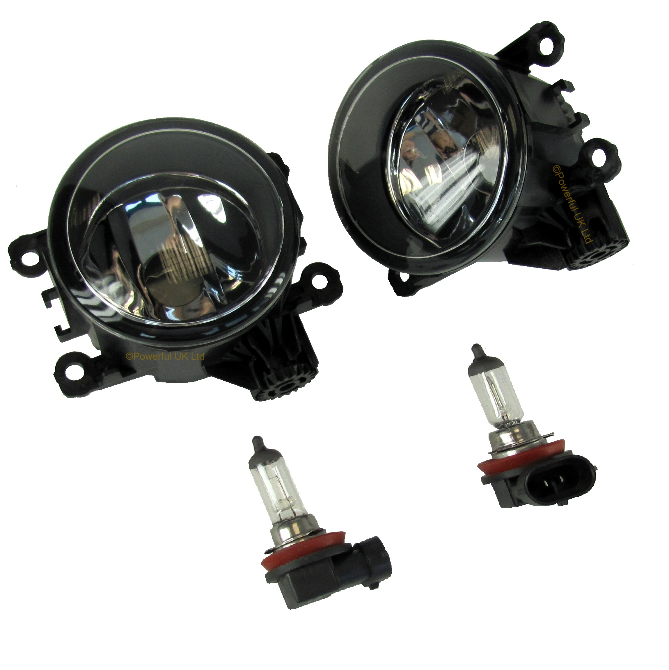 Pair Of Front Bumper Fog Lamp Light For Land Rover