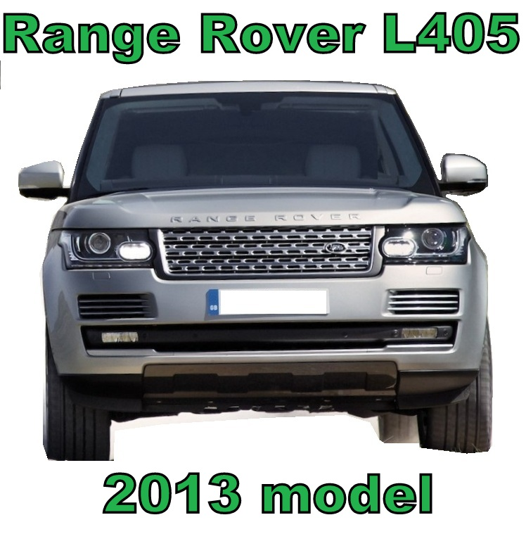Black+Silver L405 Style Front Grille