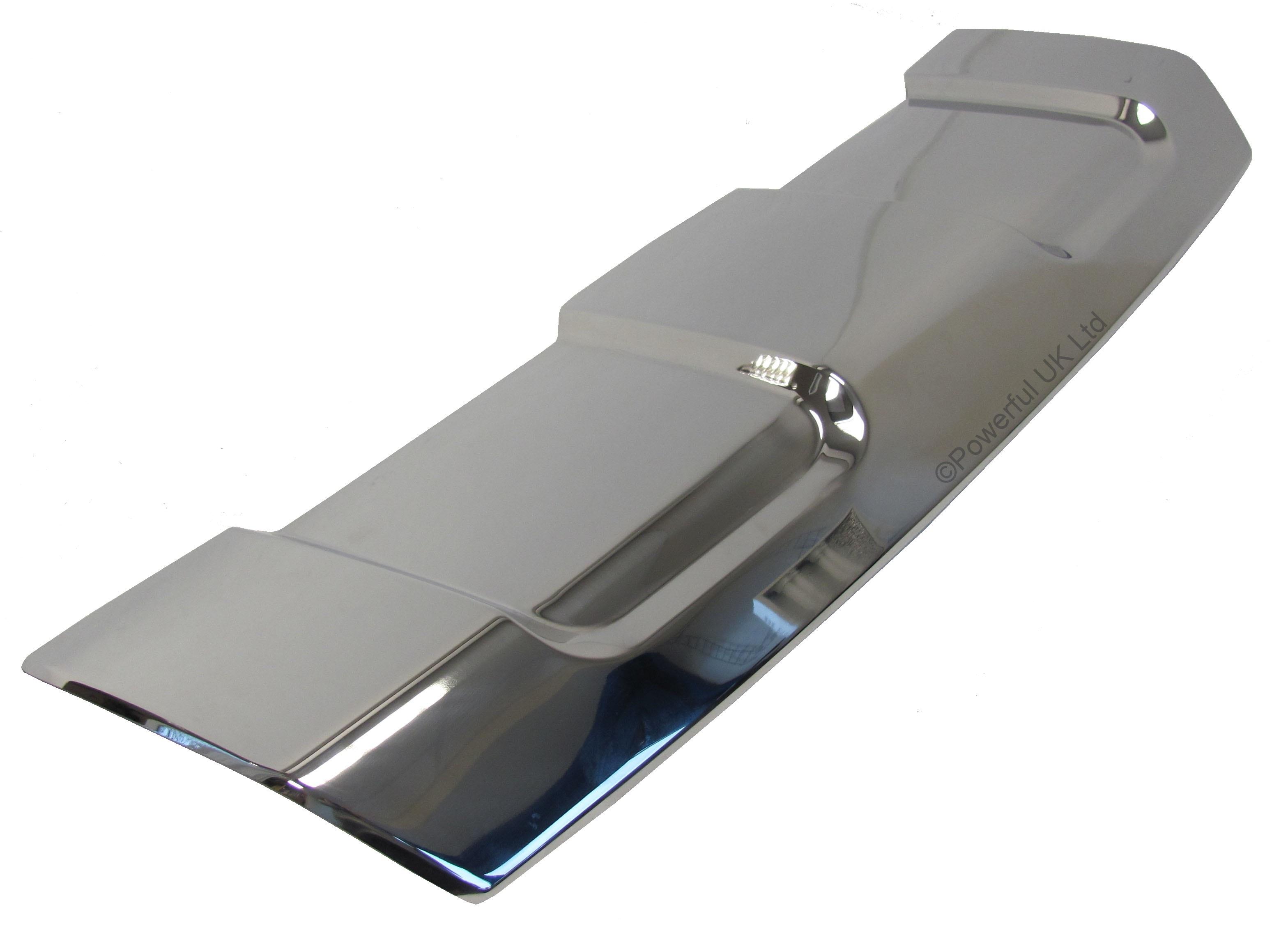 stainless steel front bumper skid plate for new range rover sport 2013 l494 ebay. Black Bedroom Furniture Sets. Home Design Ideas