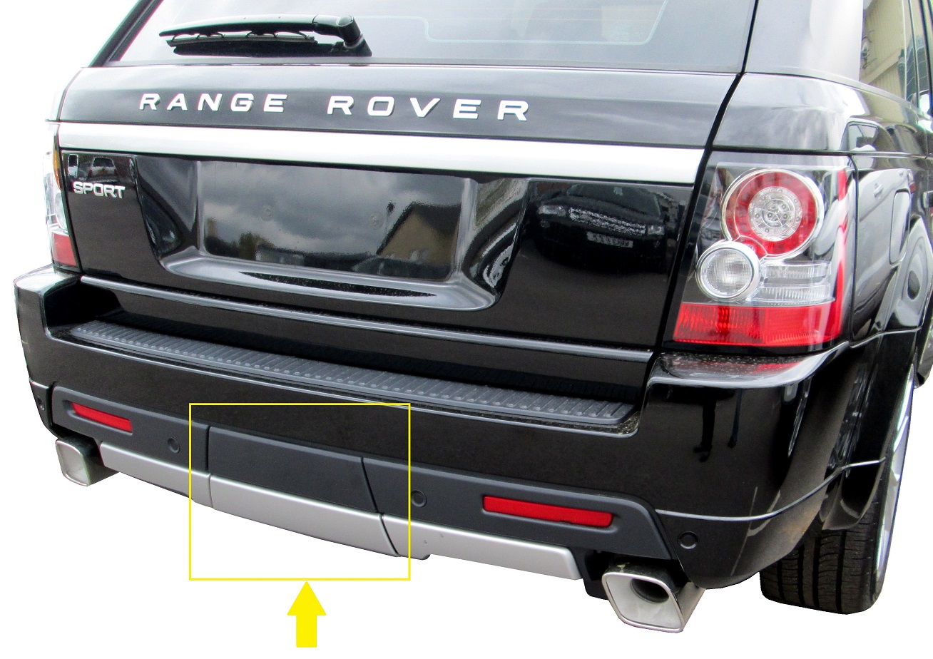 range rover sport 2010 autobiography tow eye cover rear. Black Bedroom Furniture Sets. Home Design Ideas