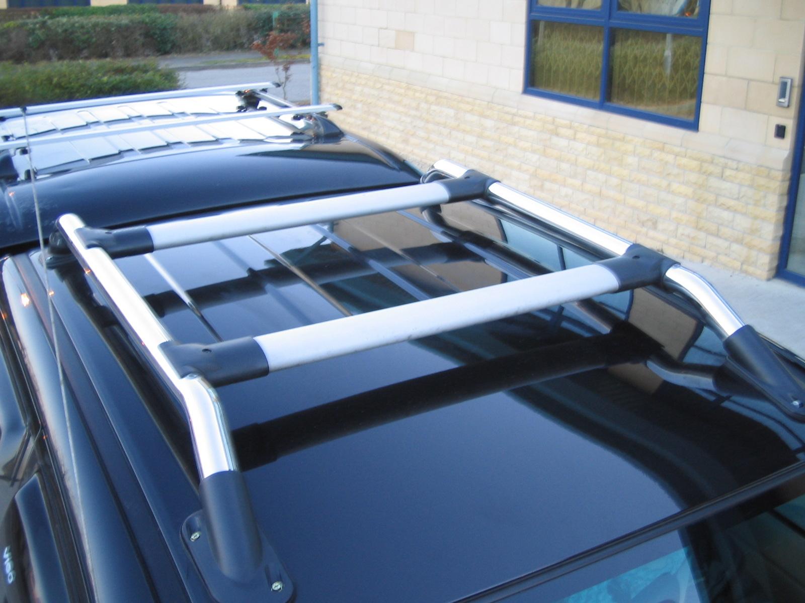 barre de toit kit rack toyota hilux mk6 vigo pickup chrome. Black Bedroom Furniture Sets. Home Design Ideas