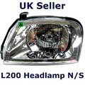 View Item Left ( N/S ) Headlight for Mitsubishi L200 pickup