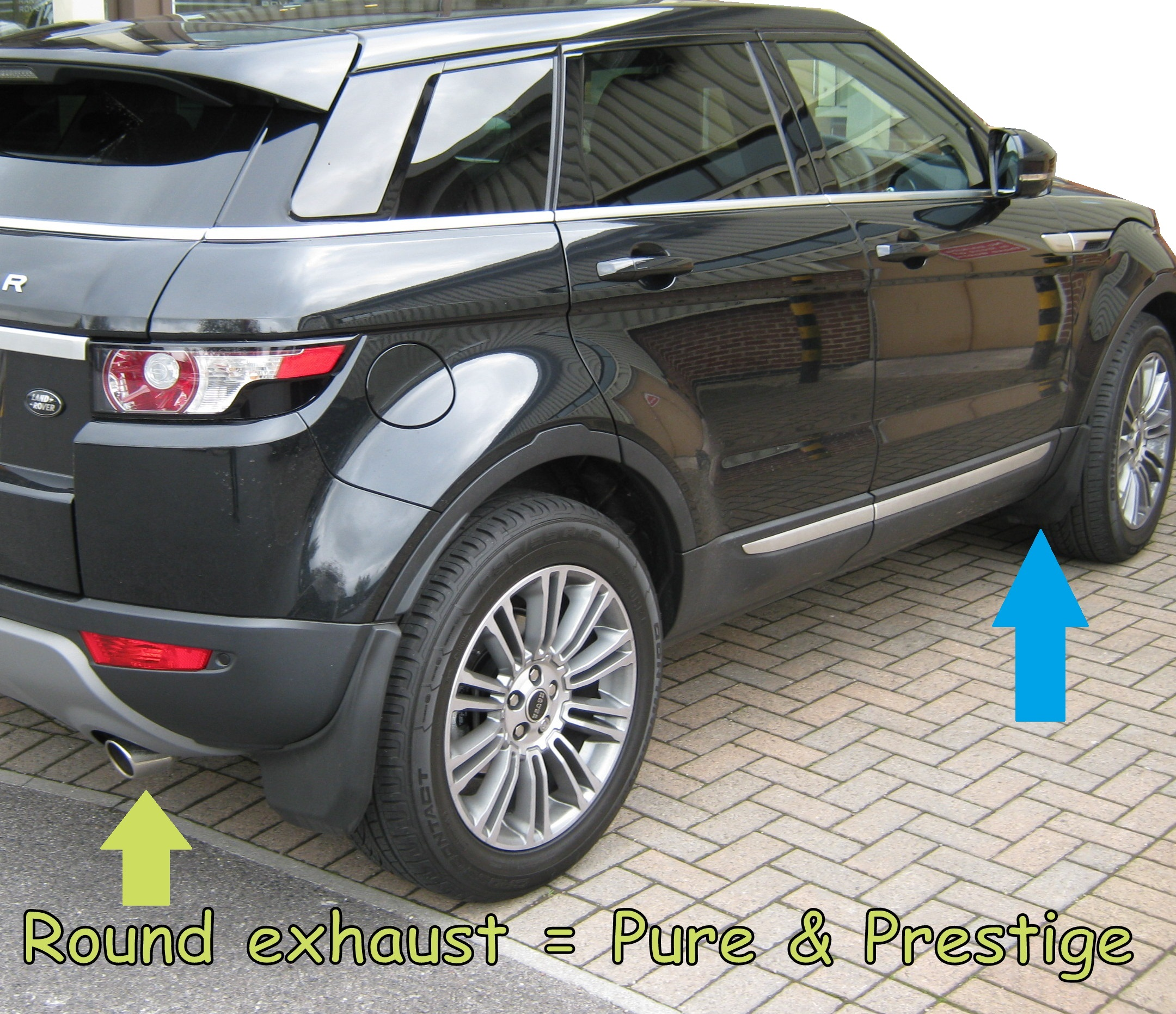 Front+Rear Mudflap Kit For Range Rover Evoque Pure