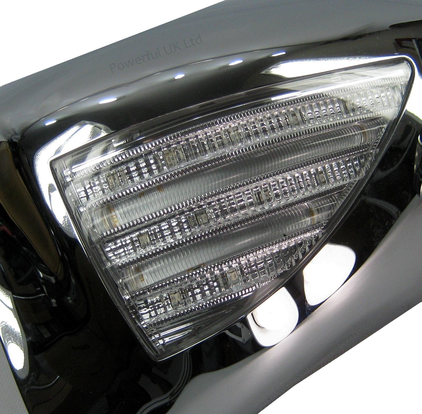 2002 Land Rover Range Rover Interior: Chrome Mirror Cover Caps LED Indicator+welcome Light Land